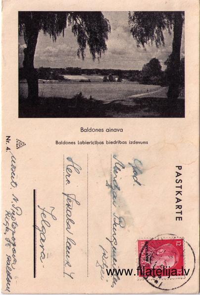 Baldones pastkartes