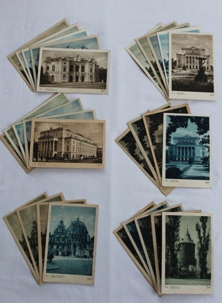 Senā Rīga pastkarte
