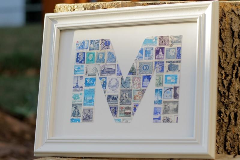 Monogramma no  pastmarkām