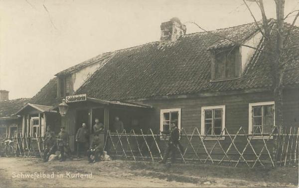 Vācu kareivju atpūtas nams